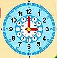 Goula - Reloj y calendario en catalán, material educativo (Diset 51306) de Diset