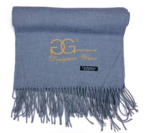 GGucineri Fashion Designer Wear Florence Luxury Scarves Pashmina Shawl  Cashmere Blend Damen Schal 70cmx180cm 29824246507