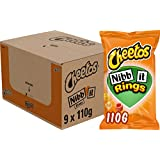 Cheetos Nibb-it Rings Chips, Doos 9 stuks x 110 g