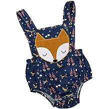 Fossen Bebe Peleles Patrón de Fox Monos para Recien Nacido Niña Niño 0-24 meses