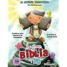 Antiguo Testamento - Cuaderno para colorear y de actividades (Bilingüe): Old Testament Coloring and Activity Book (Bilingual) (Big Bible, Little Me)