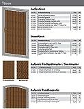 Feuchtgruber Prospekt für Außentüren, Garagentüren, Rundbogentüren, Stalltüren, Stahlrahmen