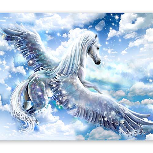 murando - Fototapete Pegasus 150x105 cm - Vlies Tapete - Moderne Wanddeko - Design Tapete - Wandtapete - Wand Dekoration - Fantasie g-C-0068-a-b
