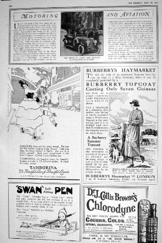 stylo-1921-de-cygne-de-madrid-tamborina-de-voiture-du-roi-espagne-belgique-hispano-suiza-chlorodyne