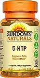 Sundown Naturals Maximum Strength 5-HTP 200 mg, 30 Capsules