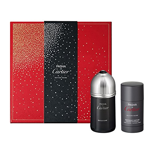 Edition Deodorant Stick (CARTIER PASHA NOIRE EDITION EDT 100 ML + DEOSTICK 75 ML SET REGALO)