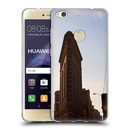 Flat Iron NY Orte 4 Soft Gel Hülle für Huawei P8 Lite (2017) (Flat Iron Gel)