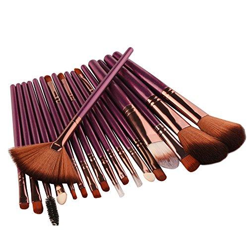 Theshy 18 Stk Make Up Pinsel Set Professionelles Schminkpinsel Kosmetikpinsel Lidschatten...