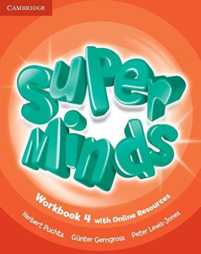 Super Minds Level 4 Workbook with Online Resources by Herbert Puchta (2016-06-06)