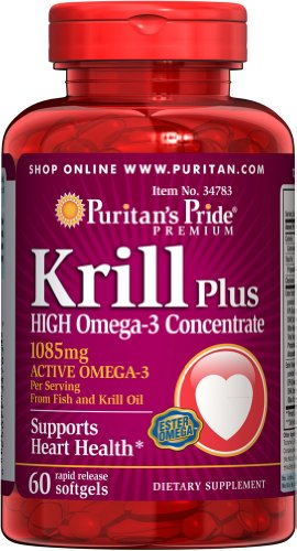 Aceite de KRILL 1085 mgrs - 60 Cps OMEGA 3 // Salud Cardiovascular