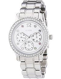 Guess Damen-Armbanduhr XS Chronograph Quarz Edelstahl W0305L1