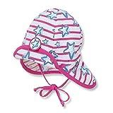Sterntaler Baby Sommer-Jerseymütze mit Nackenschutz Lichtschutzfaktor 50+, Größe:47, Farbe:knallviolett (688)