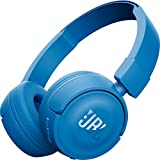 JBL T450BT On-Ear Bluetooth Headphones with Mic (Blue)