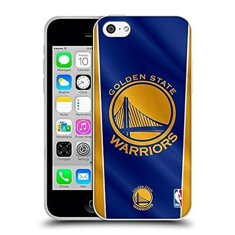 Officiel NBA Bannière Golden State Warriors Étui Coque en Gel molle pour Apple iPhone 5c