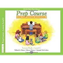 Alfred Prep Course Lesson Book Level C --- Piano - Palmer, Manus & Lethco --- Alfred Publishing