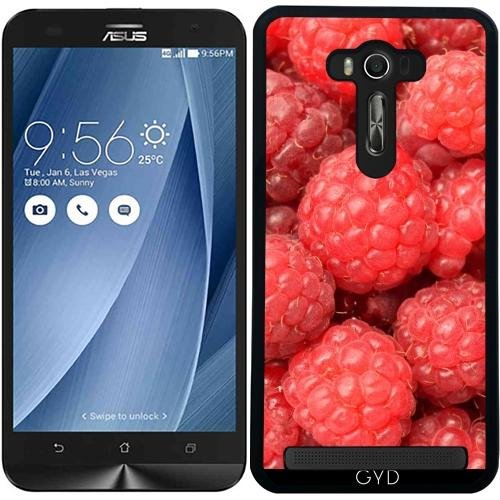 Custodia per Asus Zenfone 2 Lazer (ZE550KL) - Rasberries Frutta Cibo by WonderfulDreamPicture