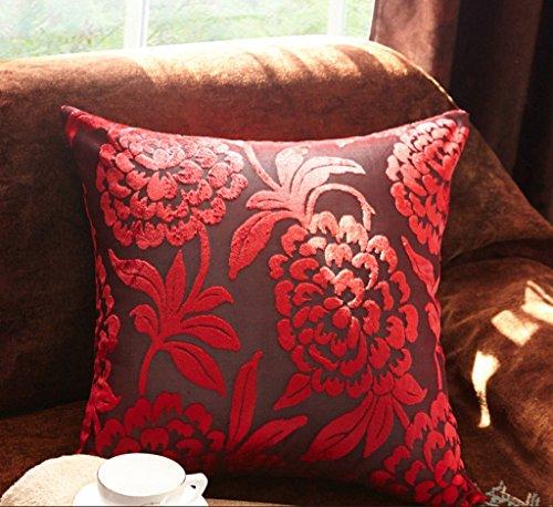 Preisvergleich Produktbild ZWL Kissen Kissen Rückenlehne mit Core Bedside Büro Sofa Stuhl Bett Kissen Soft Case Back Pad Schützen Sie das Hals Taille Kissen Lendenkissen Fashion. z ( größe : 50*50cm , stil : K )