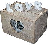 Caja de madera caja de sujeción de fotos álbum de boda regalo amor