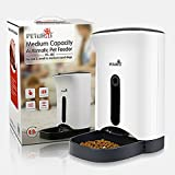 GemPet Automatic Pet Feeder for Dogs and Cats, Automatic Timing Pet Feeder, Voice Recording--102
