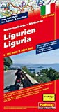 Motomap Ligurien 1 : 275 000 / 1 : 650 000: Die schönsten Strecken mit Sehenswürdigkeiten und Herbergen. GPS-Daten: Gratis Download der Motorradtouren (Hallwag Freizeitkarten) -