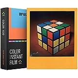 Impossible - 4522 - Nouveau : pellicule couleurs pour Appareil Polaroid type P600 - cadres couleurs - 8 feuilles par boîte