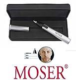 Moser Nasenhaarschneider / Ohrhaarentferner, exclusives Metallgehäuse. 41975