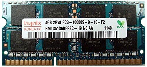 hynix HMT351S6BFR8C 4GB DDR3 PC3-10600 1333MHz Non-ECC Unbuffered CL9 1.5V Dual Rank