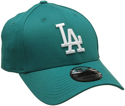 new-era-mens-mlb-league-essential-los-angeles-dodgers-baseball-cap-blue-one-size