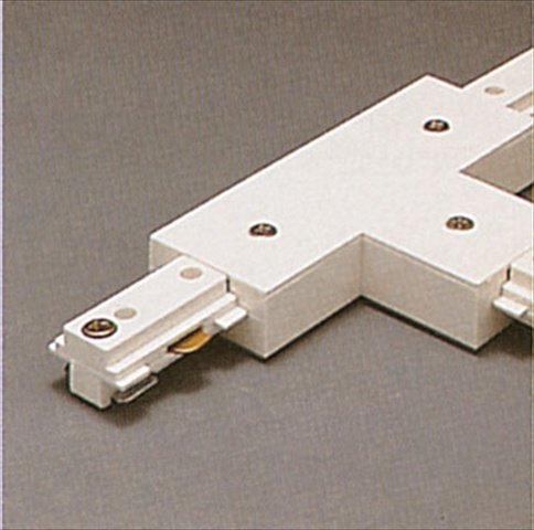 PLC Lighting TR132 WH Track One-Circuit Zubeh-r Beleuchtung Track T-Stecker in Wei-