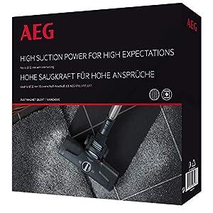 AEG Vario 4500 Dust Magnet Kombidüse (für Teppich und Hartboden, Auto-Funktion, top Saugleistung, optimale Staubaufnahme, flach und wendig, Interlocking-Anschluss, für VX3-7 & LX4-7, schwarz)
