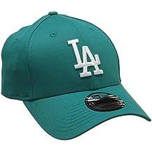 New Era Mlb League Essential los Angeles Dodgers, Gorra de Béisbol para Hombre, Azul (Blue), Talla Única