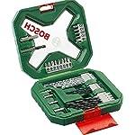 Bosch Set da 34 Pezzi di avvitatore e punte X-Line Classic, legno, pietra e metallo, accessorio per trapani 51QZ IkYJ4L. SS150
