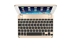 Brydge 7.9 Aluminium Bluetooth Keyboard for iPad mini 4 - Gold