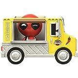 Marvel 11304dorbz Ride: Deadpool W/Chimichanga Truck