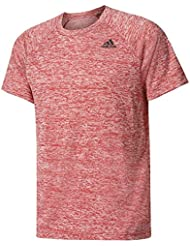 adidas D2M Tee Ht Camiseta, Hombre, Rojo (Scarle), M