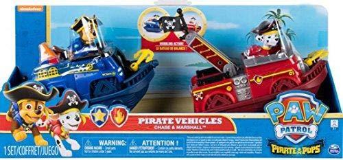 (Pfoten Patrole Pirat Fahrzeuge Jagd & Marshall)