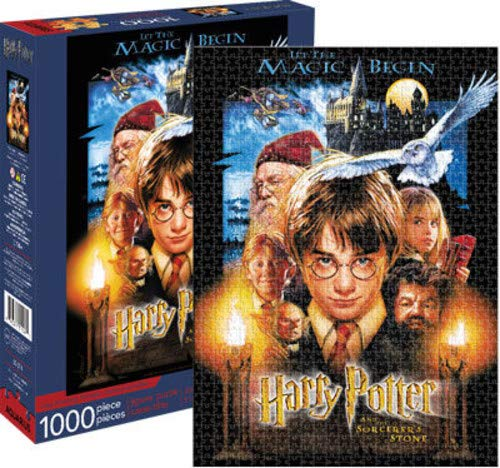 Harry Potter & Sorcerors Stone 1000 piece jigsaw puzzle