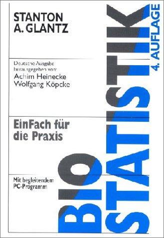Biostatistik, m. Diskette (3 1/2 Zoll)