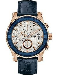 Guess Pinnacle White Dial Chronograph Men's Watch -W0673G6