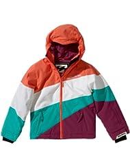 Billabong Pyneo - Cazadora de snowboard para niña rosa coral Talla:10