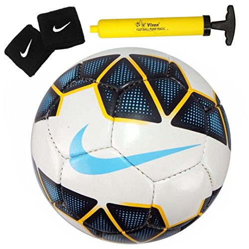 Larjonna Nike Strike Official Premier League replica Multi-coloured Football. Size-5  available at amazon for Rs.665
