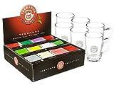 Teekanne Premium Selection Box mit 6 Teegläsern mit Henkel