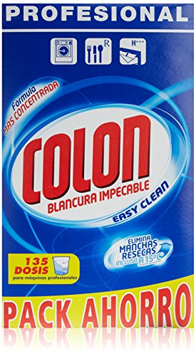 Colon Detergente para Ropa en Polvo Formato Profesional - 135 lavados