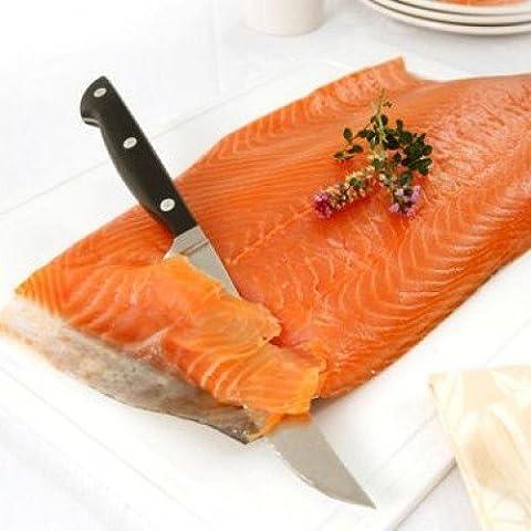 Port of Lancaster Smokehouse Smoked Scottish Salmon - Unsliced Sides min 800g- 1kg