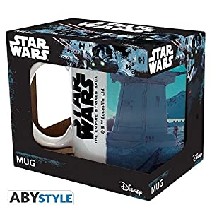 ABYstyle - Overwatch Star Wars Taza con caja Movie Scene 2 Unisex-Adult, abymug376