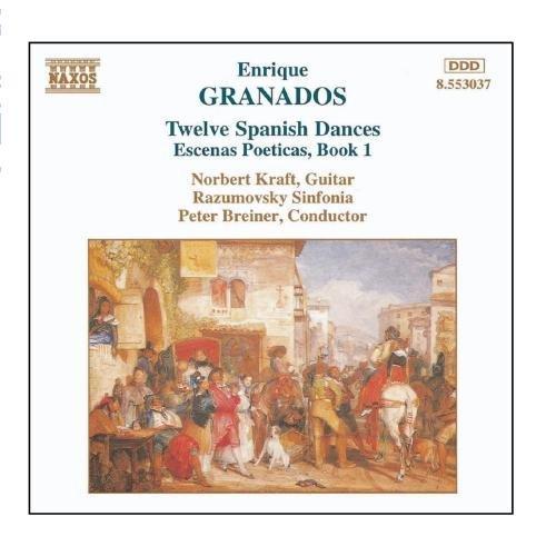 Twelve Spanish Dances - Granados by Peter Breiner (2006-08-01)