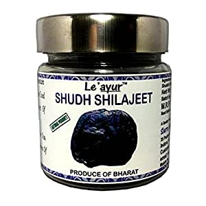 Le'ayur Natural Shilajeet or Shuddhikrut Shilajeet 50 Grams
