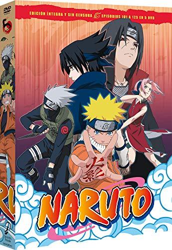 Naruto Box 5 Episodios 101 A 125 [DVD]