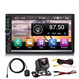 Panlelo S1NV Auto Radio AM FM RDS Touch Screen 2 Din Full HD Android 8.1 Navigazione GPS Auto StereoQuad Core 1 GB RAM 16 GB ROM Bluetooth WiFi SWC Telecamera posteriore inclusa