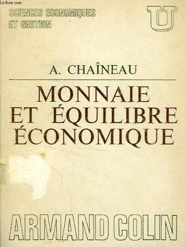 [EPUB] Monnaie et équilibre économique